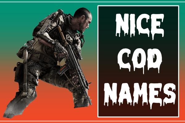 Nice COD Names (2021)