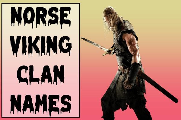 Norse Viking Clan Names (2021)