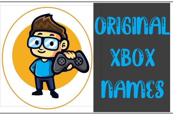 Original Xbox Names (2021)