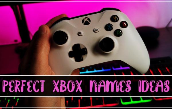 Perfect Xbox Names Ideas (2021)