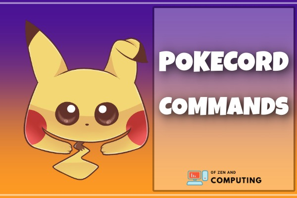 All Pokecord Commands List (2021)