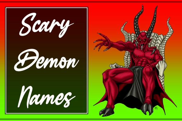 Scary Demon Names