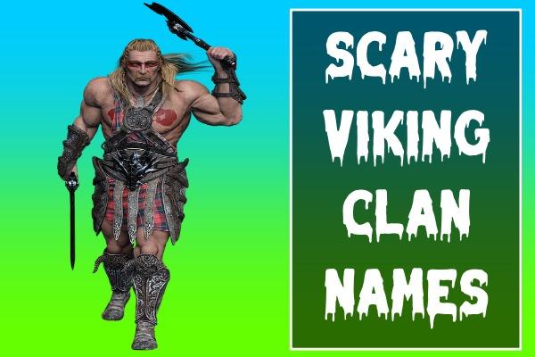 Scary Viking Clan Names (2021)