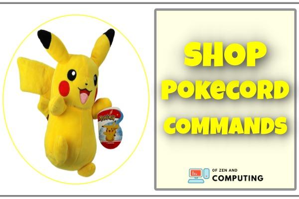 shop pokecord commands