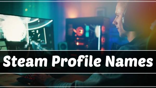 Steam Profile Names (2021)