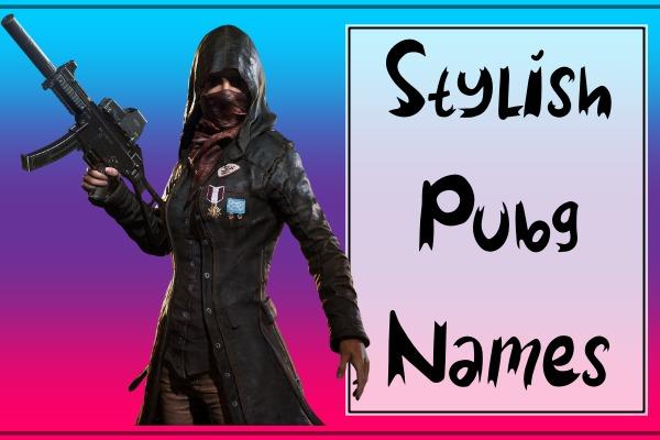 Stylish PUBG Names List (2021)