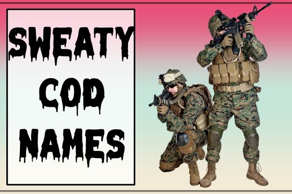 Sweaty COD Names (2021)