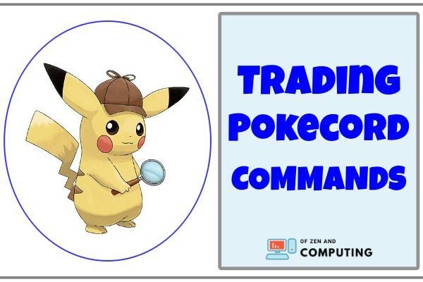 Trading Pokecord Commands