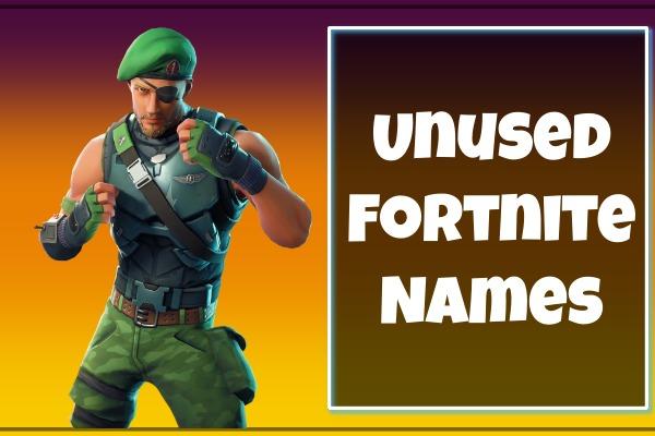 Unused Fortnite Names (Usernames)