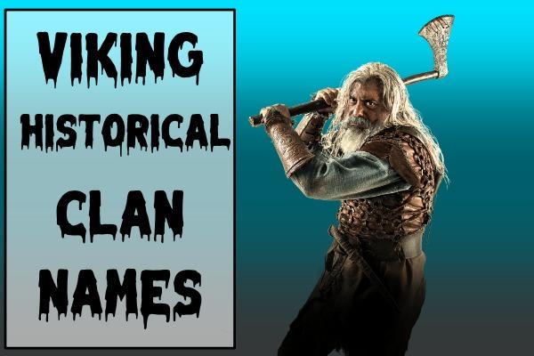 Viking Historical Clan Names (2021)