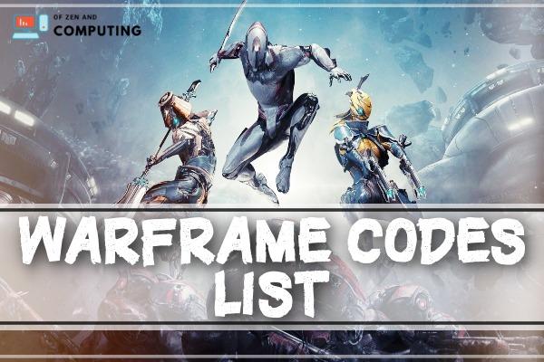 Warframe Promo Codes List - Free Glyph Codes (2021)