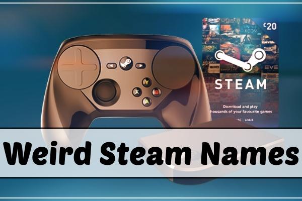 Weird Steam Names (2021)
