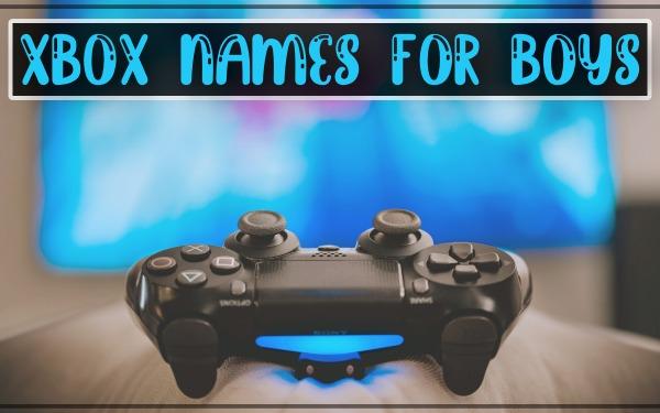 Xbox Names for Boys 2021 (Gamertags)